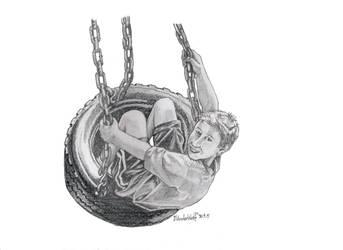 Tyre Swing by SchoolSpirit