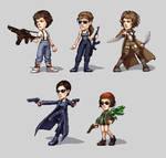 pixel ladies by omg-its-mits