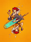 Red From Transistor