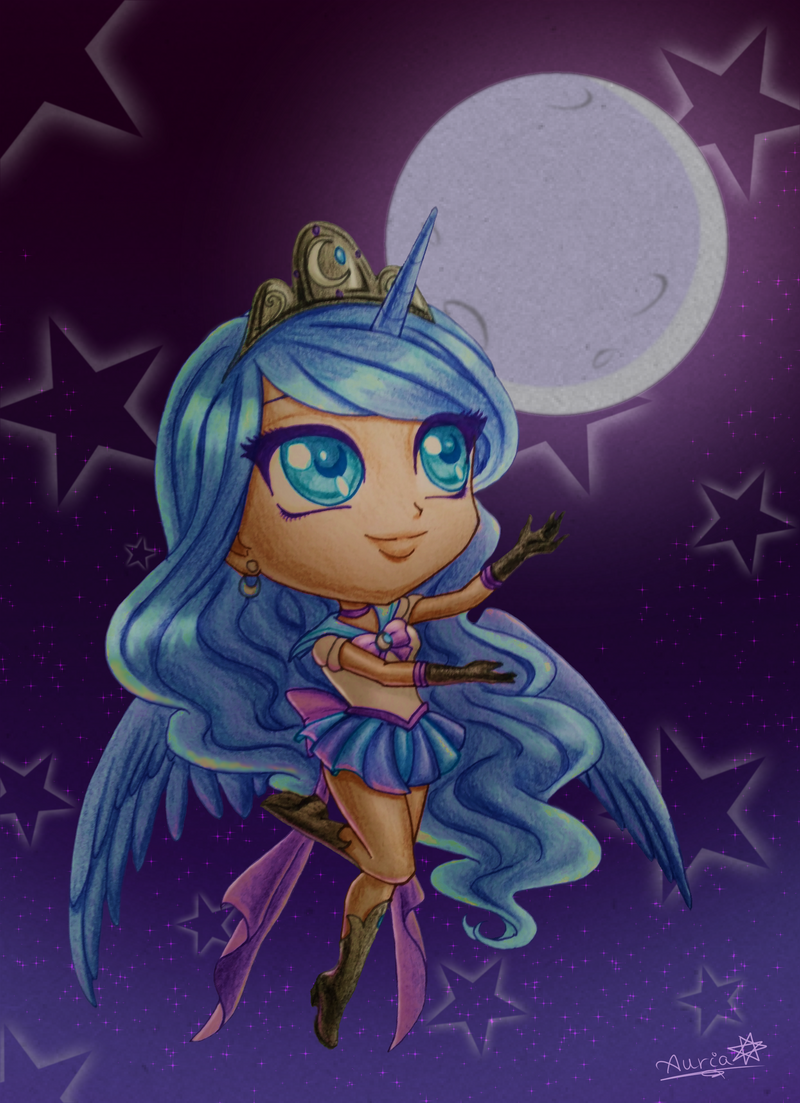Sailor Luna by Auriaslayer on DeviantArt