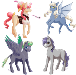 [OPEN] MLP ADOPTABLES by ZauriArt