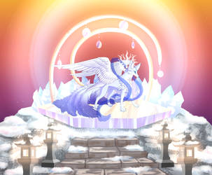 Kami of the star light by ZauriArt