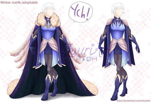 [Closed][Adopt] Winter Outfit + YCH