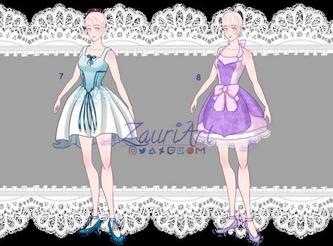 [OPEN][ADOPT] Outfit batch 2- summer dresses