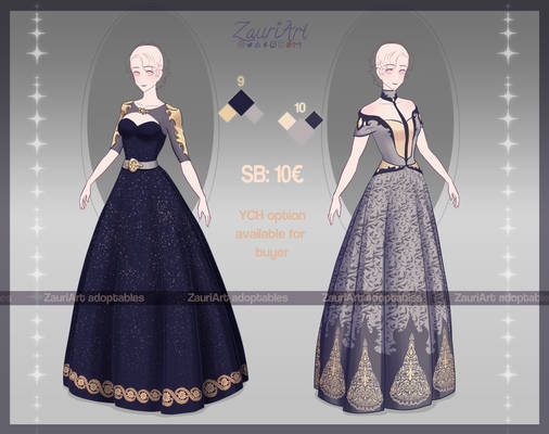 [OPEN] ADOPTABLE Outfits - batch 3 - dresses 9-10