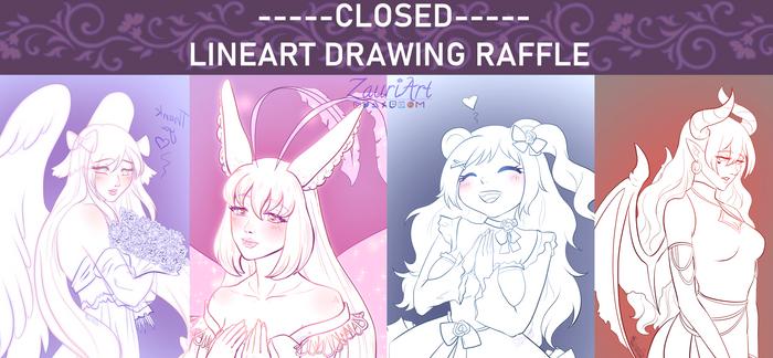 [Closed] lineart drawing raffle