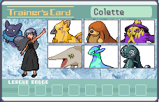 Colette Trainer Card by WONK2O