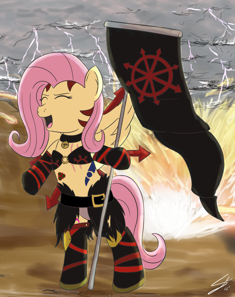 Fluttercultist by UnicornSketch