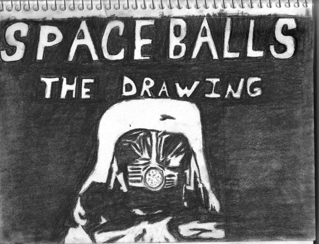 Spaceballs the Drawing by yukiderek