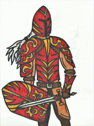 Crimson Knight by will-work-4-candy