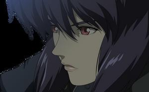 Major Motoko Kusanagi Vector - Darker Version by Xuuuxx