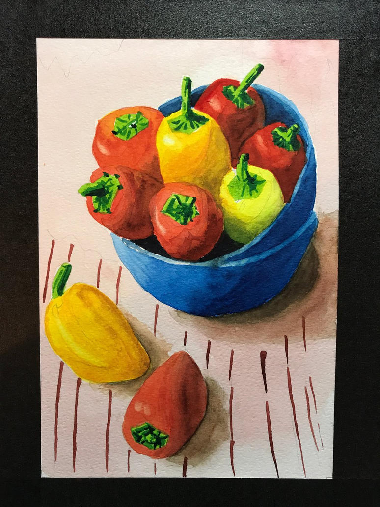 Peppers 3 of 8 by kiwinessie