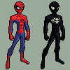 SPECTACLAR SPIDER-MAN : SPRITE by SSJLSW