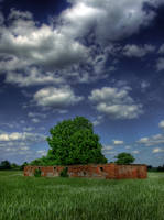 Old House HDR by mateuszskibicki1