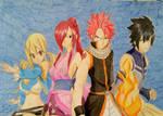 Fairy Tail - Natsu/Lucy/Gray/Erza