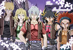YGO 5ds - The Enforcers + OC - COLOURED