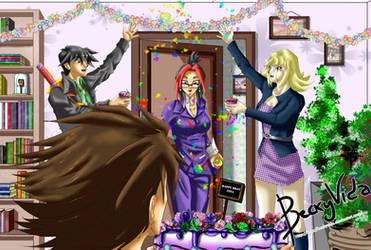 Happy Birthday Punkbot08! by BeckyVida