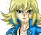 Pixel Art Icon Experiment - Keitha Mikami by BeckyVida
