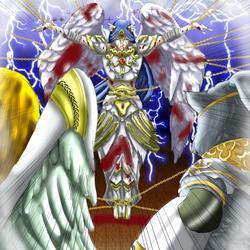 [Focus] YGO Custom Cards (2)- Lightsworn Martyr by BeckyVida