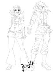 YGO/FairyTail Crossover: Keitha/Loki, Wally/Aries by BeckyVida
