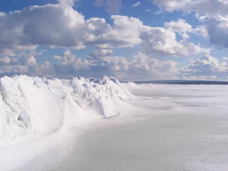 Snow On Ice.
