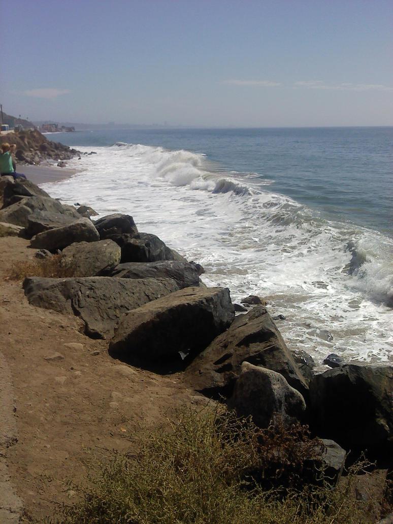 Malibu Beach by amandaluvsya