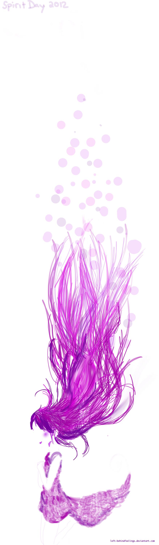 Painted in Purple by Left-BehindFeelings