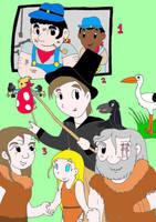 Mas personajes de libros de mi juventud by AsmodeodeSinan