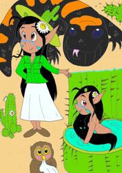 Saguaro fairy by AsmodeodeSinan