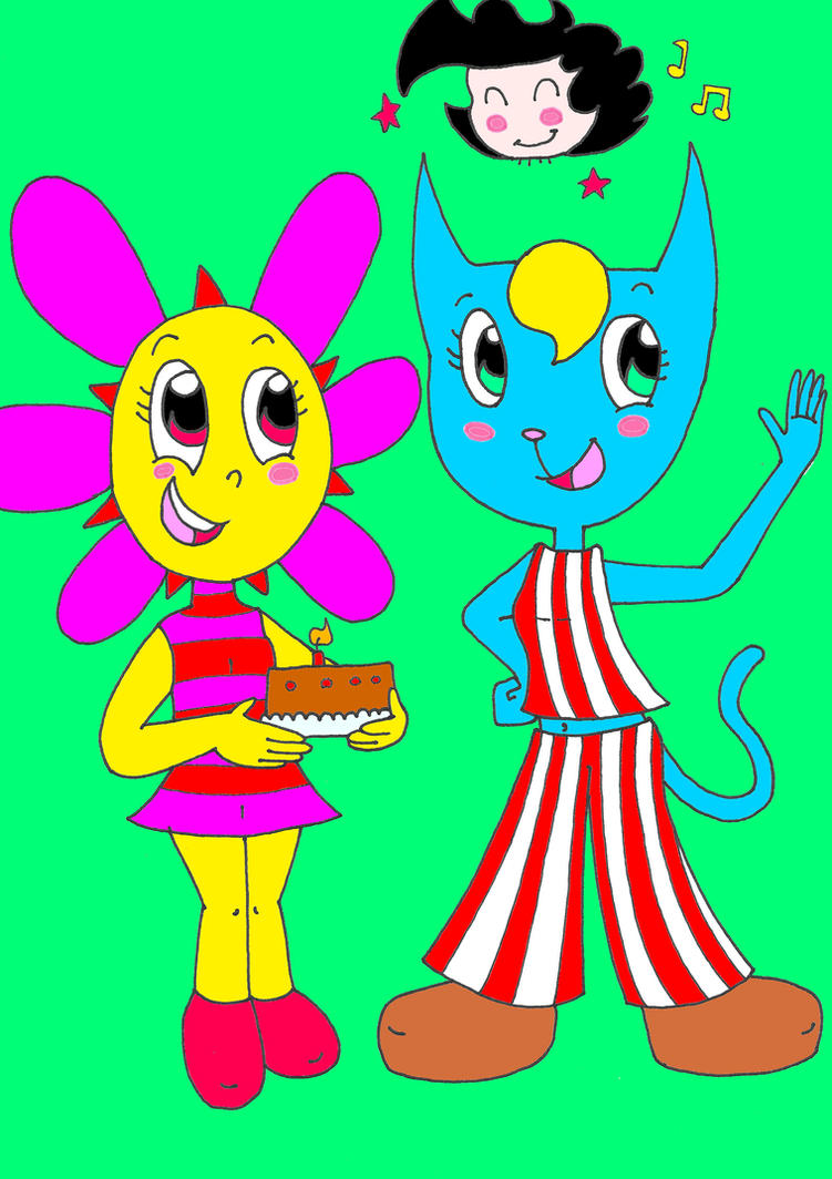 Sunny and Katy for Heavie birthday by AsmodeodeSinan