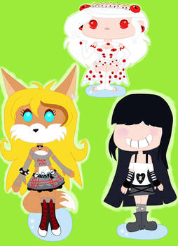 Mystery--Mist OCs in funko version for her bday