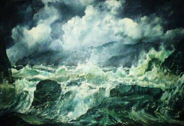 sea by FaerieFaith