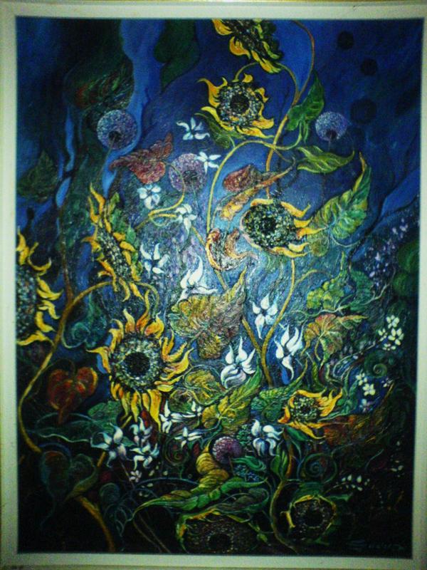 Flowers AJG by FaerieFaith