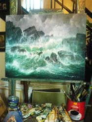 Seascape by FaerieFaith