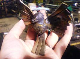 stainless steel bird
