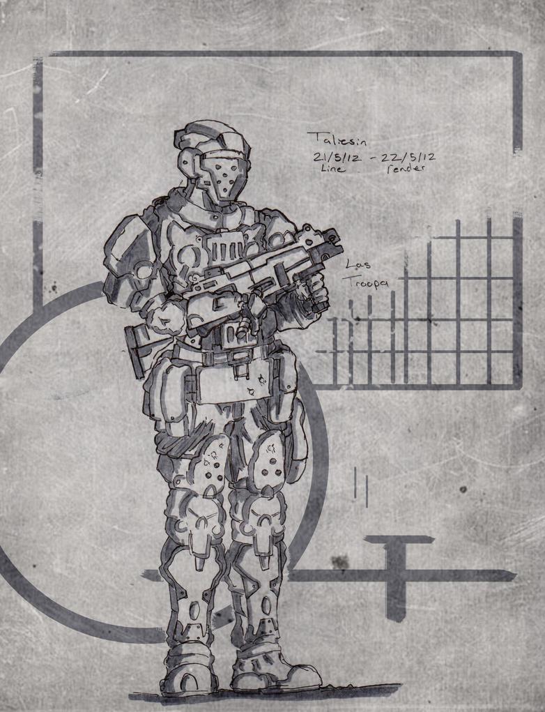 Las Trooper by Talfox
