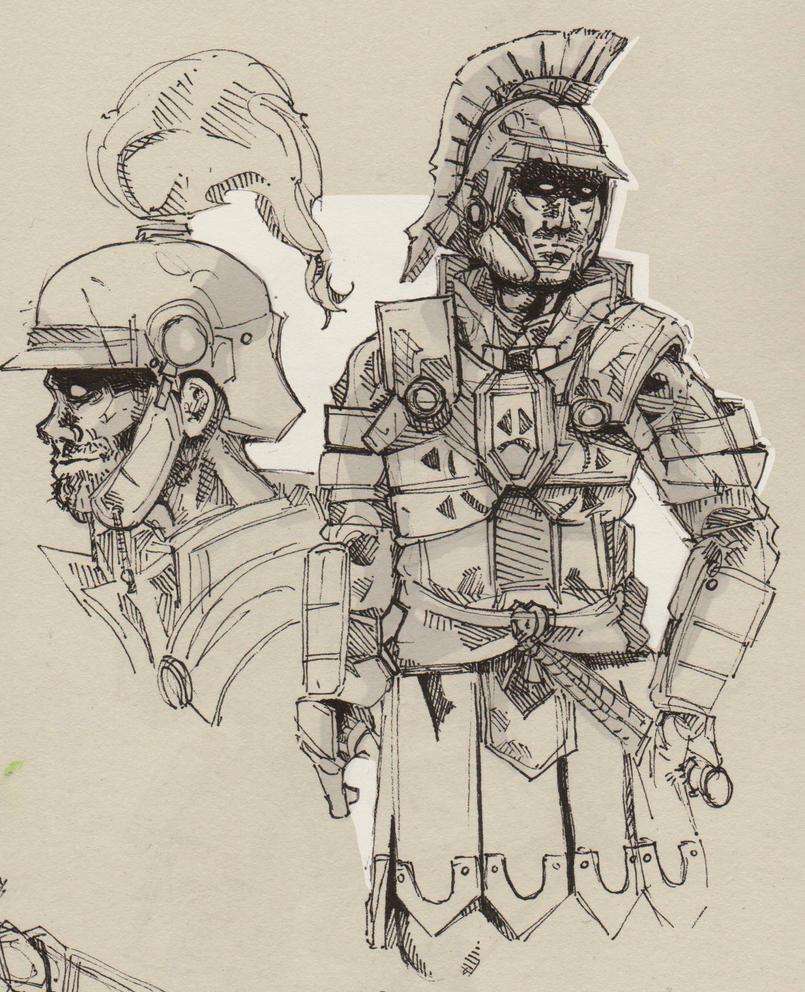 Centurion by Talfox