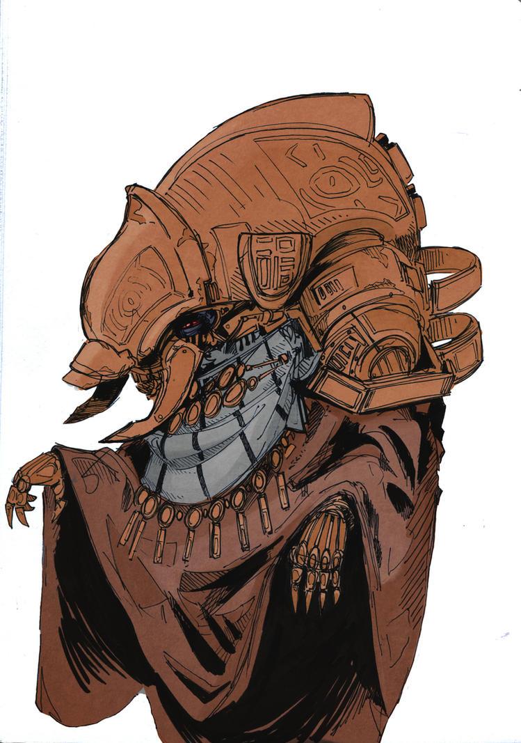Telvanni Wizard redesign by Talfox