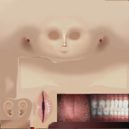 Non Blending Opacity Instead Of Disappearing It Renders The Skin Texture