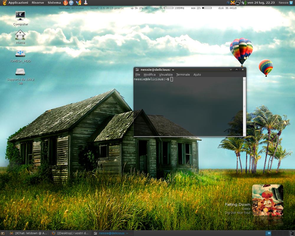 Ubuntu Desktop by xVanillaSky