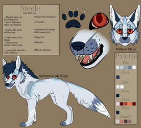 Steele Reference - 2019! by AmnesiaMoons