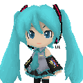 Pixel Miku Nendroid by hikaru123qq