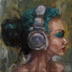 Headphones by aleksandrauzarek