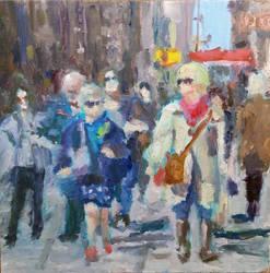 NY Walk by aleksandrauzarek