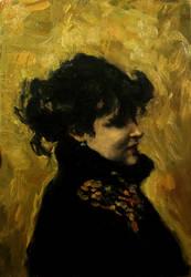 Madame Errazuriz John Singer Sargent Study by aleksandrauzarek