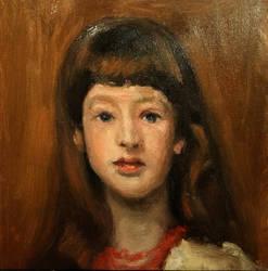 Miss Beatrice Townsend John Singer Sargent Study by aleksandrauzarek