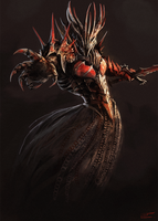 Blood wraith by Hextroyal