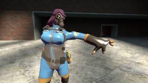 Violets hand is broken!