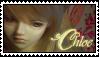 Chloe stamp by Myrretah