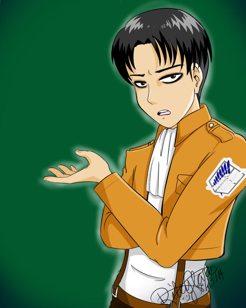 Captain Levi by ItachixKisame